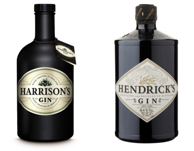 Spot The Difference: Aldi?s New Cucumber Gin Takes On Hendrick?s photo