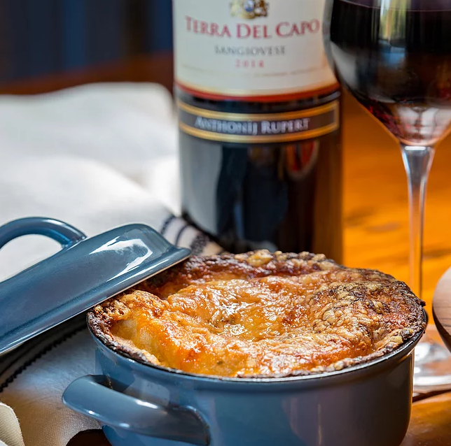 """Enjoy the """"perfecto"""" pairing of two Italian classics with Anthonij Rupert Wyne this winter! photo"""