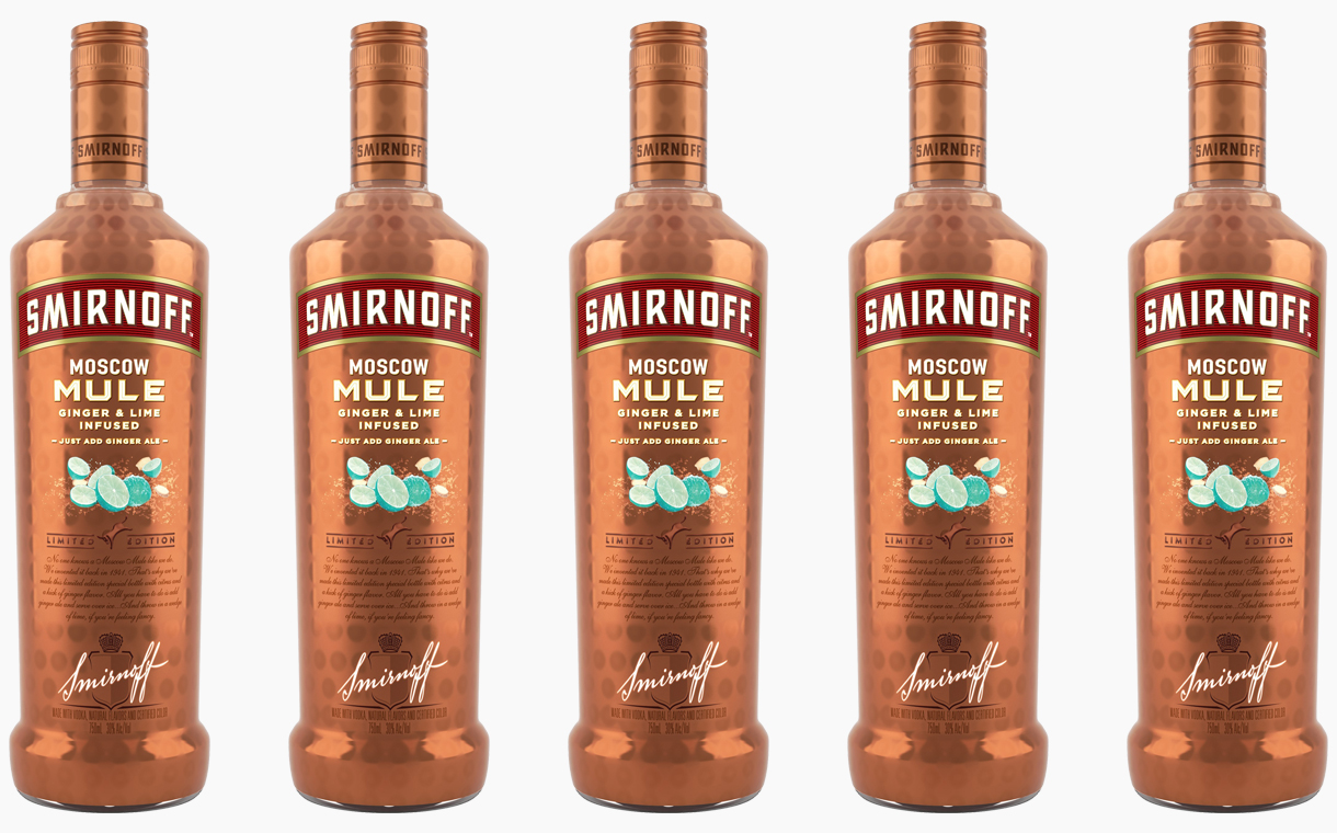 Smirnoff Unveils Limited Edition Moscow Mule Vodka photo