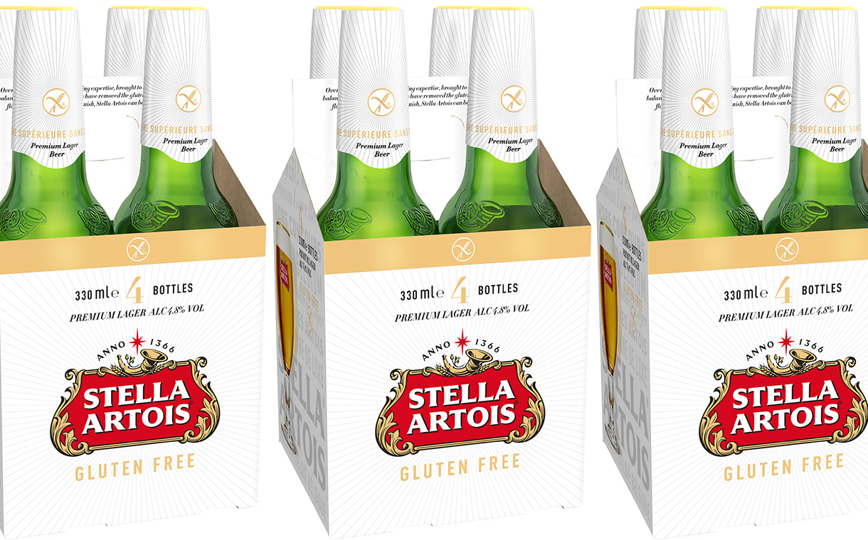 Ab Inbev Expands Its Stella Artois Range With Gluten-free Variant photo