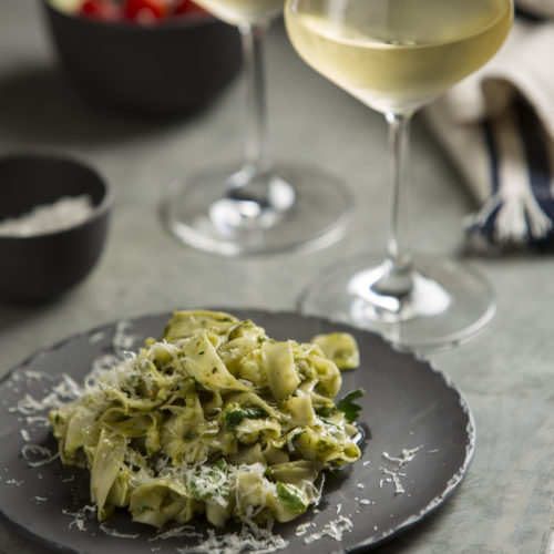 Wintery Whites And Weekend Pasta photo