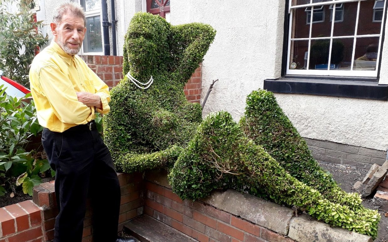 Topiarist Woken Up By vicious Drunks Trying To Have Sex With His 'lady Hedge'  photo