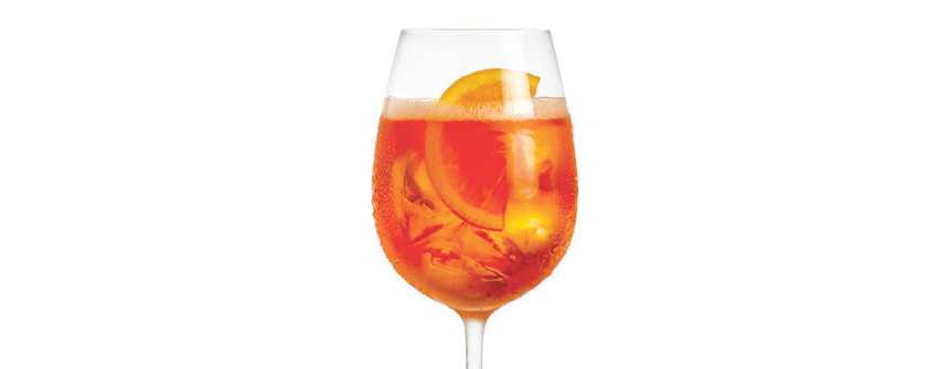 The Amazing Aperol Spritz Literally Sells Itself photo