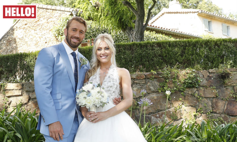 Camilla Kerslake And Former England Rugby Captain Chris Robshaw Marry In France photo