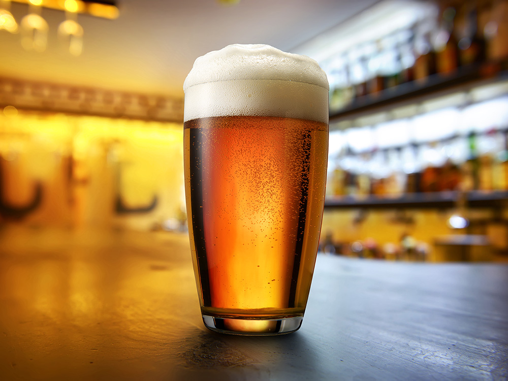 Is Your 'pint' Of Beer Really A Pint? A U.k. Restaurant Chain Was Caught Serving Undersized Beers photo