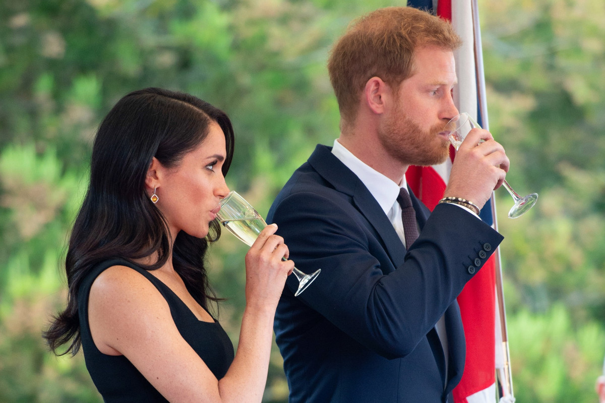 Harry And Megan's Rural County Makes Wines To Rival Champagne photo