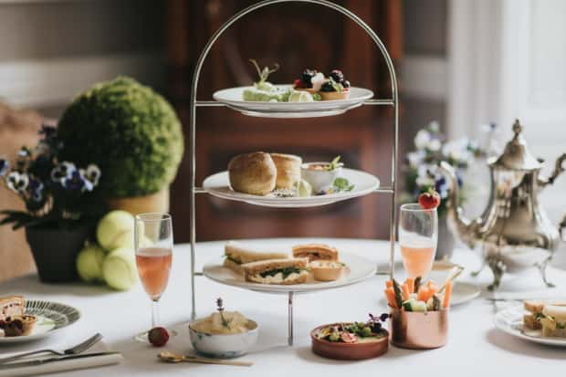 Louth Chef?s Nod To Afternoon Tea With Wimbledon Theme photo
