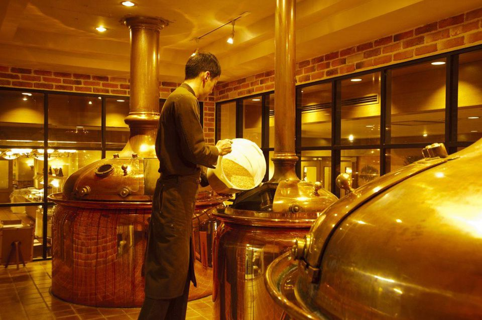 japan brewery Luxury Hotels that Brew Their Own Beer