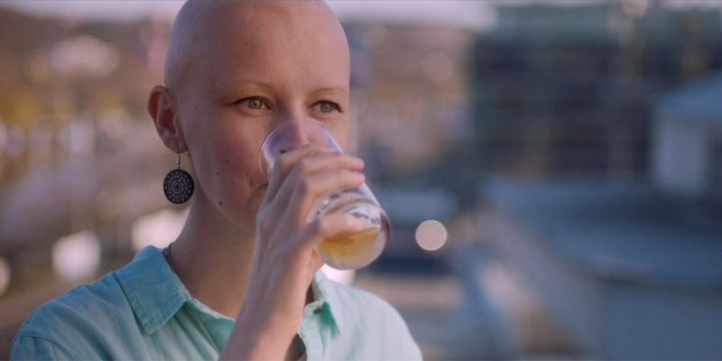 This alcohol free beer helps breast cancer patients overcome the metallic taste that chemo leaves photo