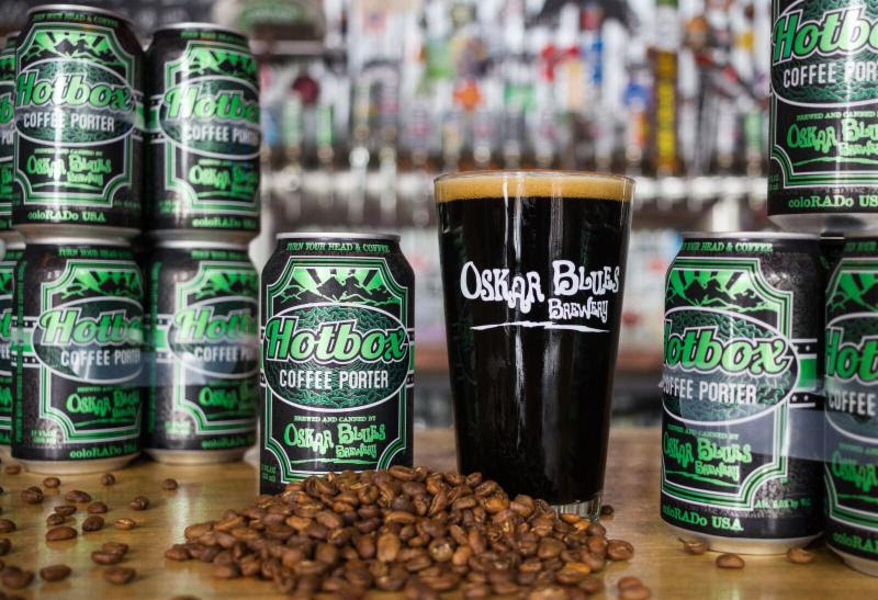 Oskar Blues Brewery Takes Iis Hotbox Coffee Porter Year-round photo