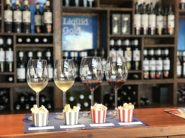 Flagstone Launches Popcorn and Wine Pairing photo