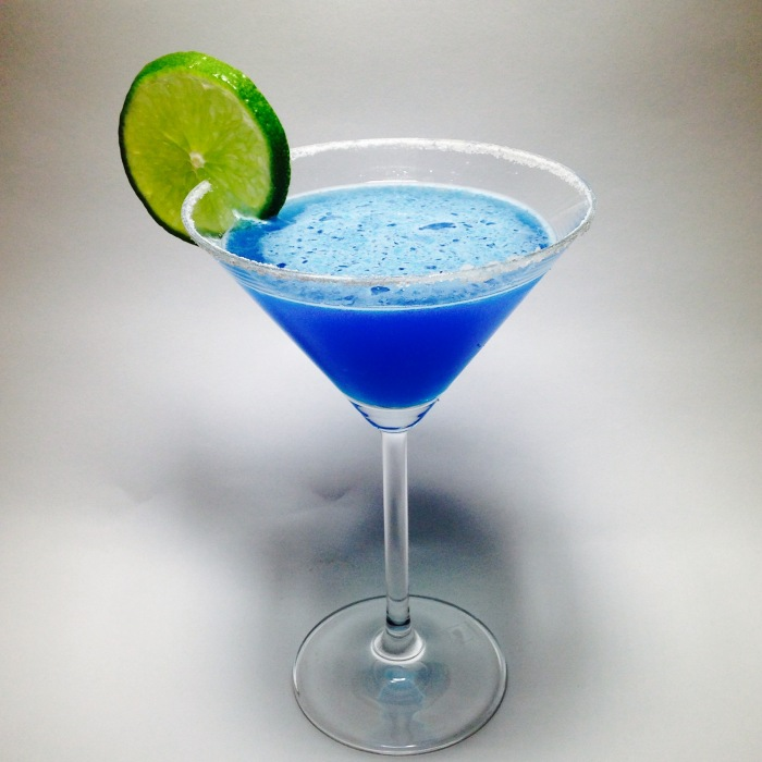 Blue Margarita Cocktail photo
