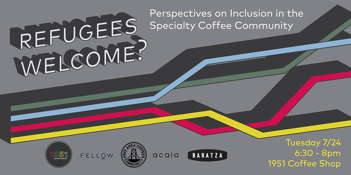 Refugees Welcome? A Panel On The Perspectives Of Refugees In Coffee photo