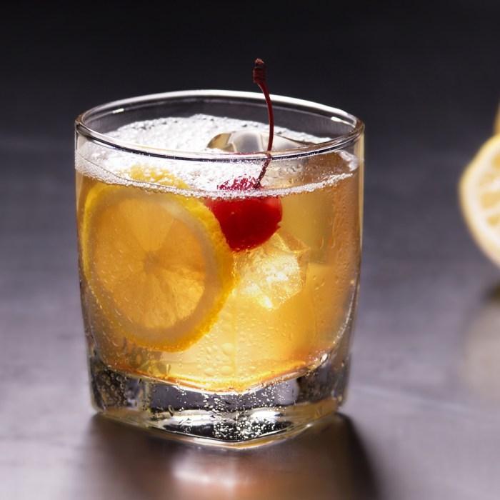 A True Amaretto Sour Cocktail photo
