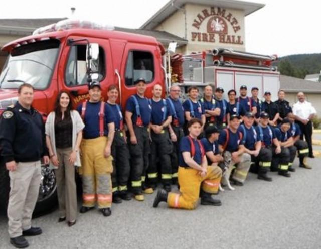 Drink Wine, Help Firefighters photo