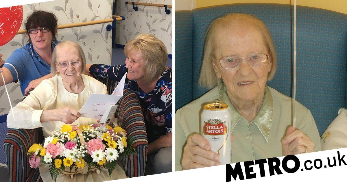 Woman Lived To 100 Thanks To Drinking Pints Of Stella photo