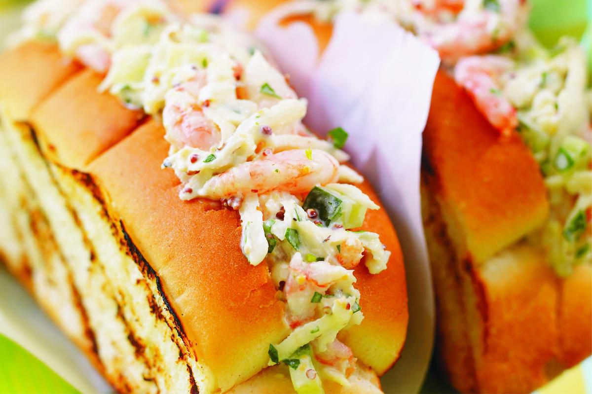 Ricardo's Shrimp Rolls Are Perfectly Paired With Celery Root Remoulade photo