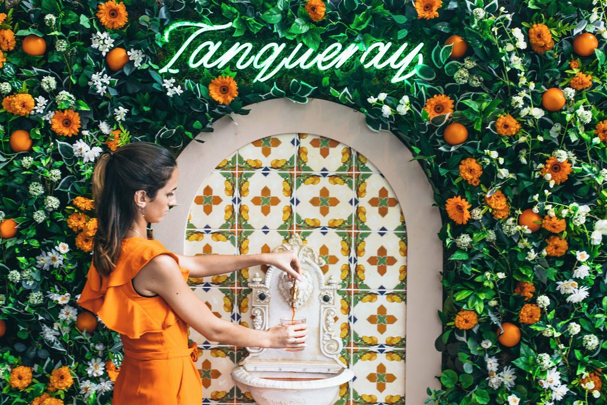 Tanqueray Develops 'uk's First' Negroni Fountain photo