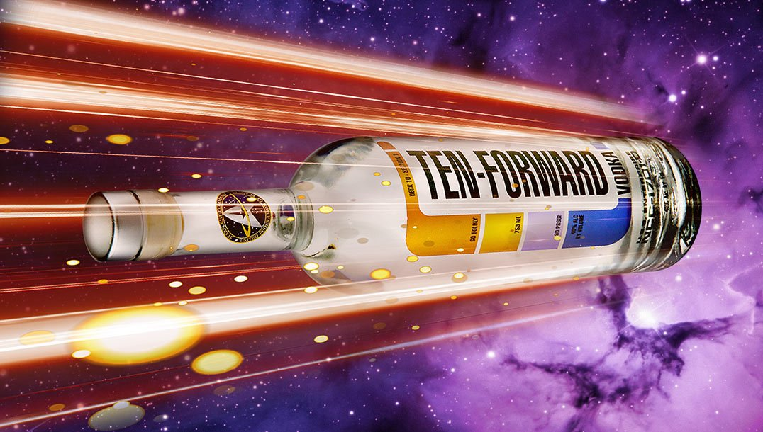 New Star Trek themed vodka launches at San Diego Comic Con photo