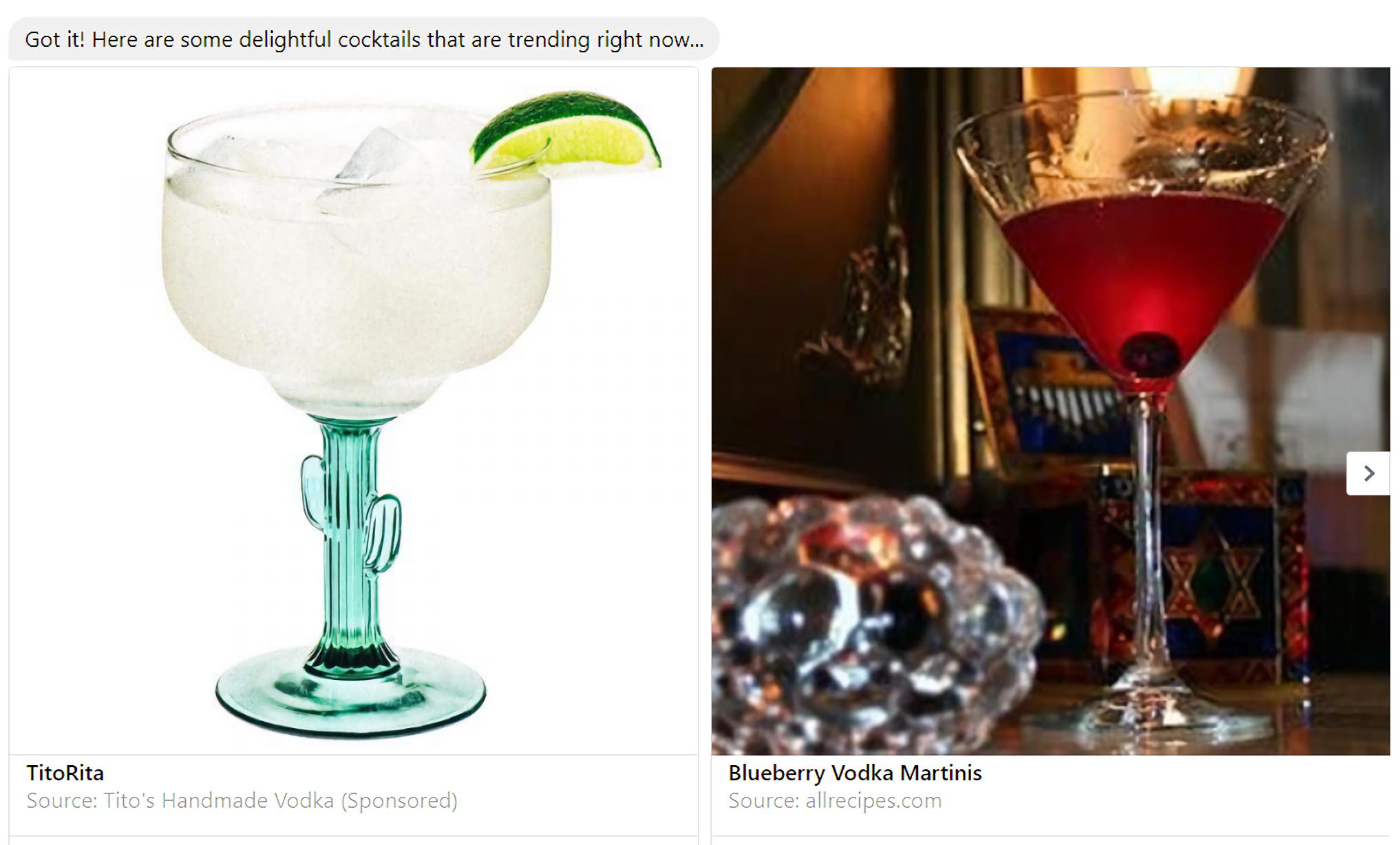 Tito?s Homemade Vodka Partners With Allrecipes On Barkeep, A Mixologist Chatbot photo