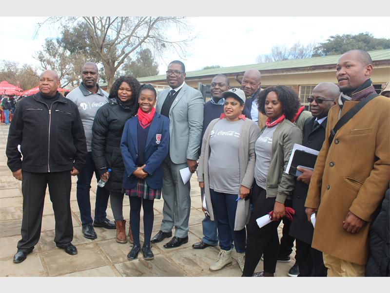 Coca-cola Identifies Tembisa High School For Mandela Day Initiative photo