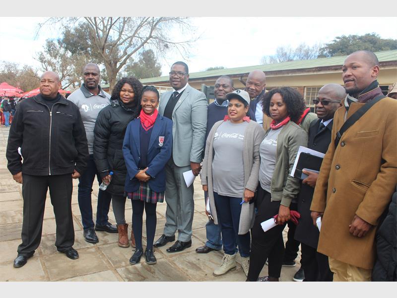 Coca-cola Identifies Tembisa High School For Mandela Day Initiative photo