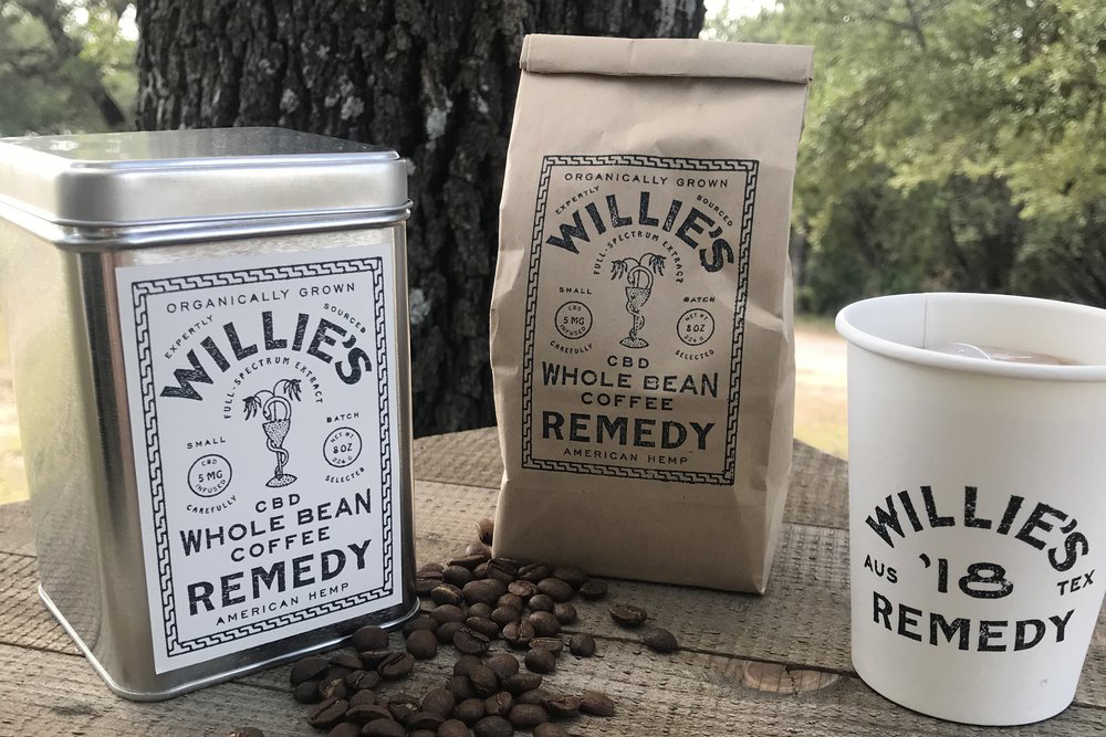 American Treasure Willie Nelson Has His Own Line Of Cbd-infused Coffee photo