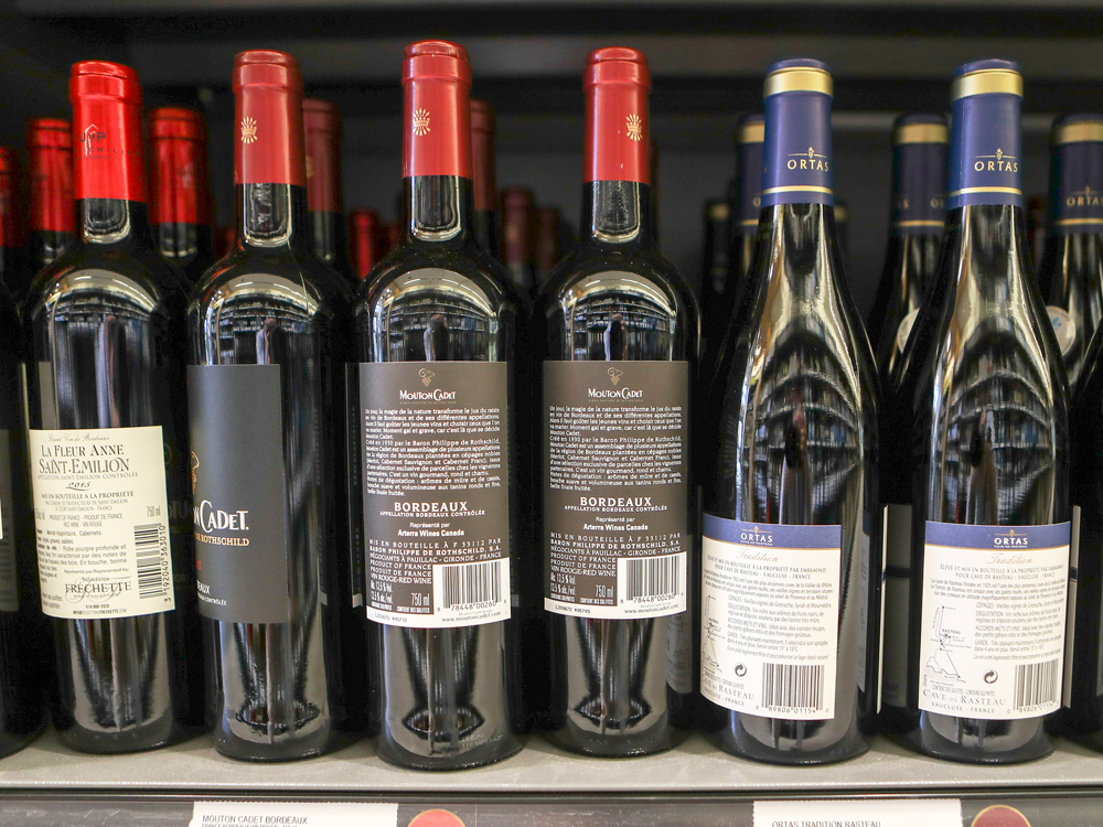 Hide-and-go-drink: Latest Quebec Union Pressure Tactic Is To Turn Around Wine Bottles On Store Shelves photo