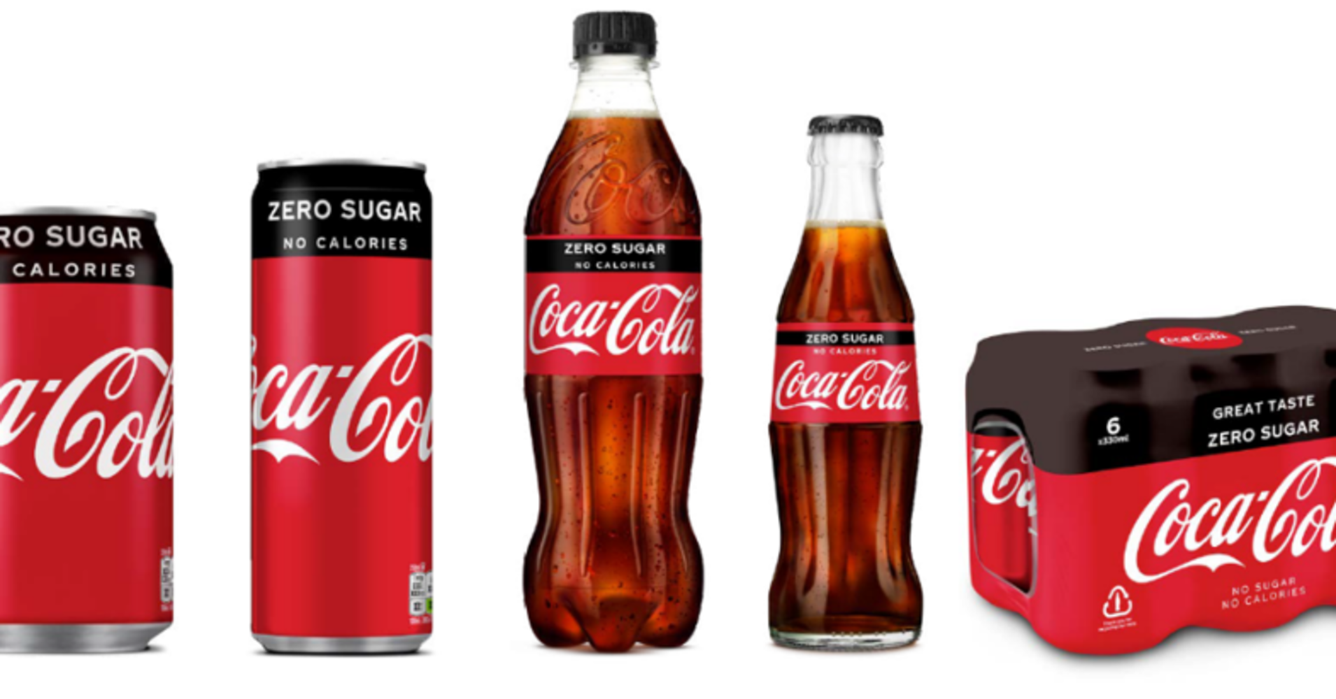 Coca-cola Uk Redesigns Zero Sugar Packaging To Look Like The Original Coke photo