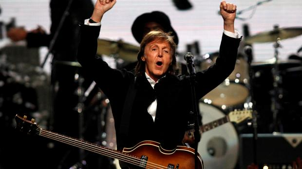 Sir Paul Mccartney Only Drinks One Glass Of Wine A Week photo