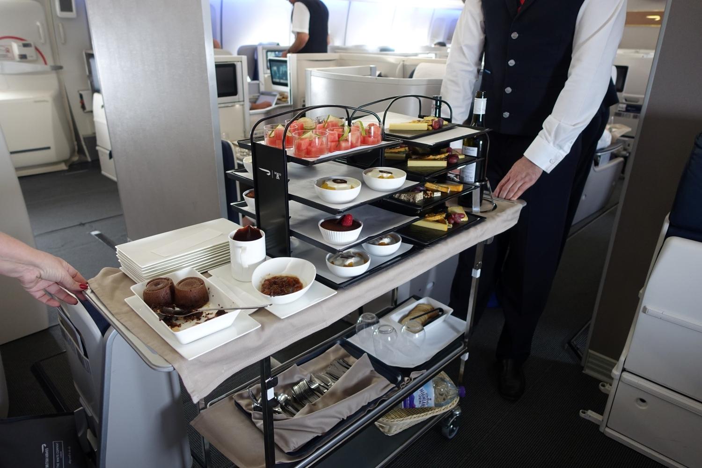 British Airways Elevates Food On Sa Flights photo