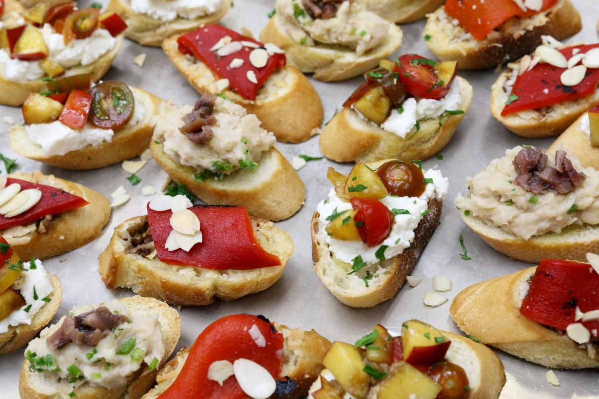 Summer's Not Over Yet! Throw A Spritz With These Crostini photo