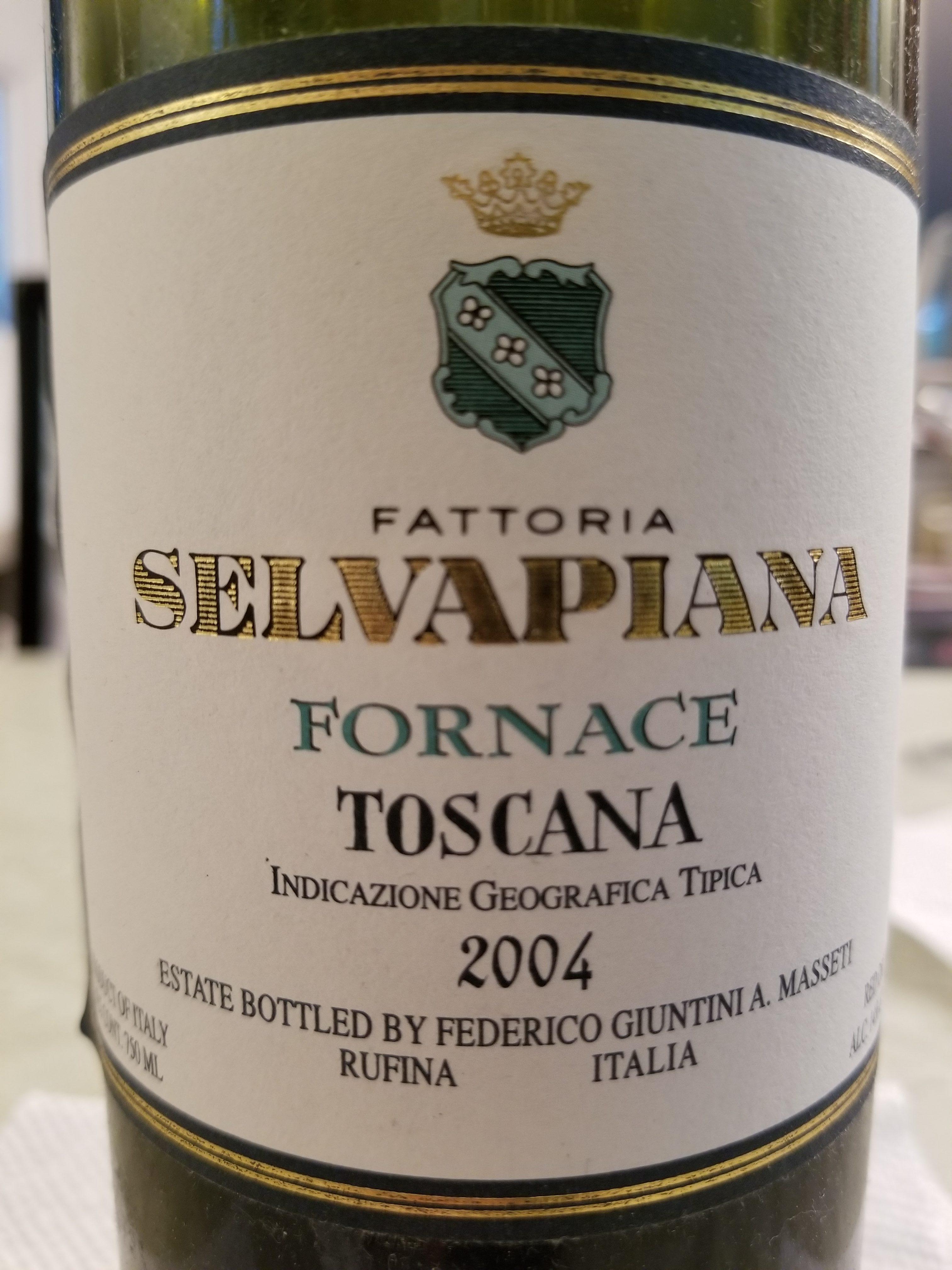 2004 Selvapiana Fornace Toscana Igt photo