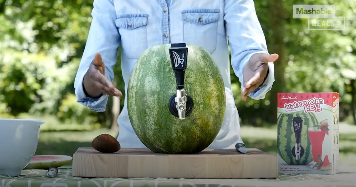 Cool Off With This Watermelon Keg photo