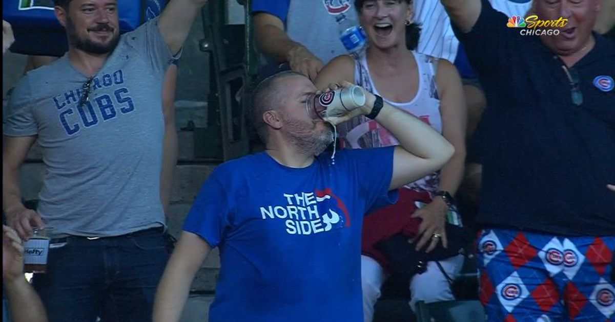 Man Catches Foul Ball In Beer Cup, Then Chugs photo
