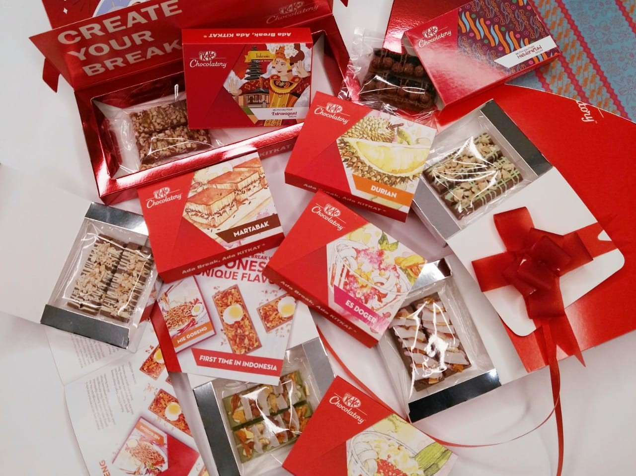 Kitkat Offers Special-edition Indonesian Flavors, photo
