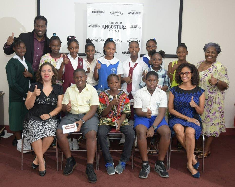 Angostura Rewards Morvant, Laventille Students photo