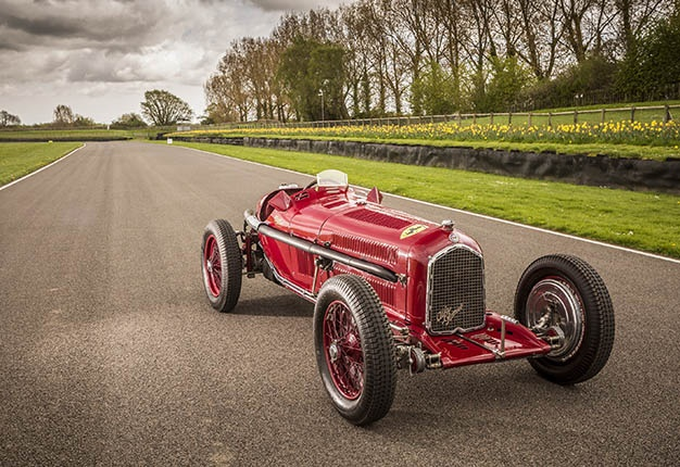 Classic Racer Headed For Mzansi: This Racing Alfa Romeo Competed In The 1936 South African Grand Prix! photo