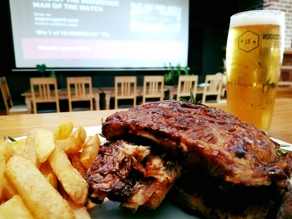 Ribs, Chips and 500ml Lager for R99 photo