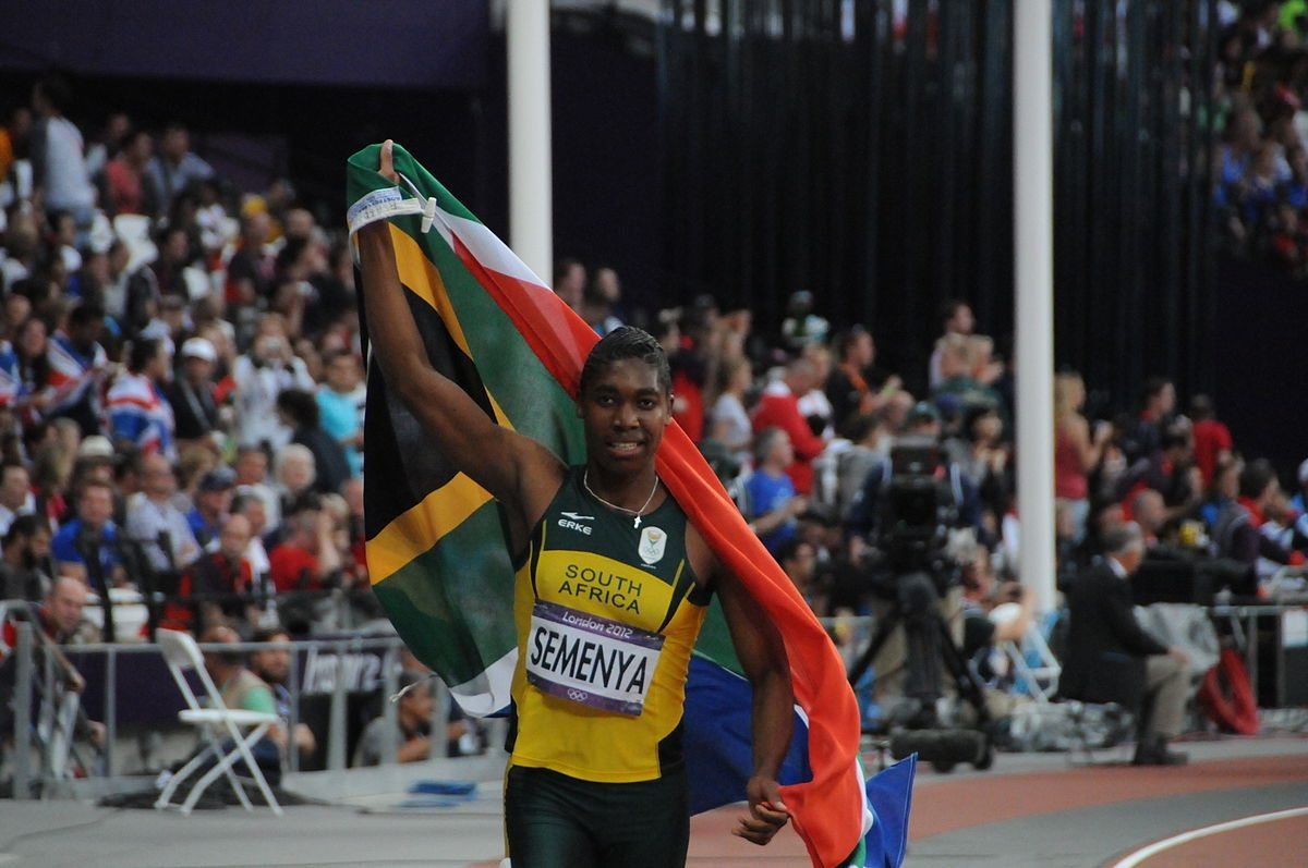 Clean Sweep For Sa's Caster Semenya photo