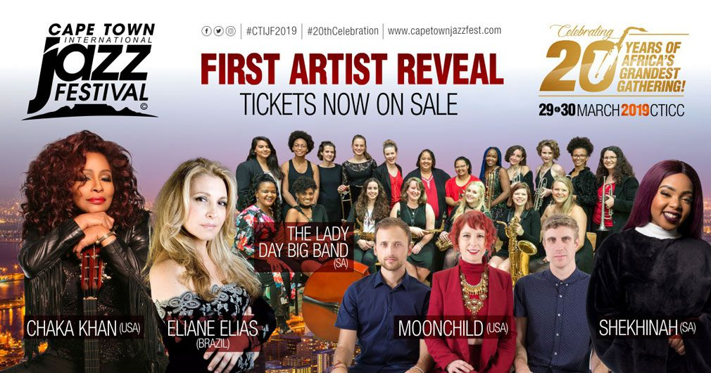 Cape Town International Jazz Festival Reveal Females First For 20th-year Celebration photo