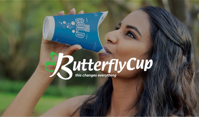 Innovative Plastic-free Butterfly Takeaway Coffee Cup Now Available In Sa photo