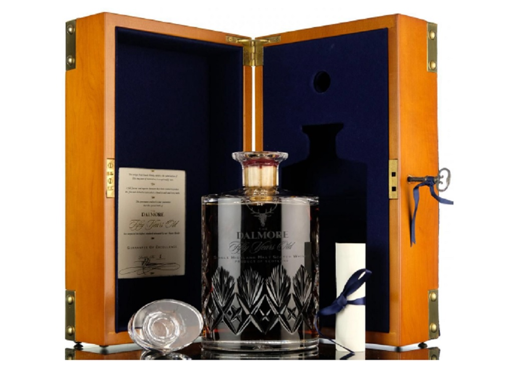 Dalmore 50-year-old Sells For World Record £28,000 photo