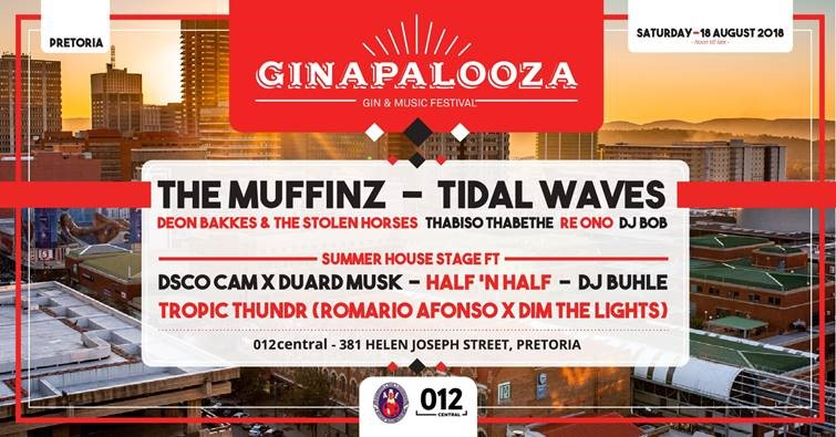 Competition: Win Tickets To Attend Pretoria's First Ginapalooza (gin And Music Festival) photo