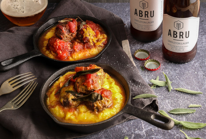 Dinner In A Flash: Try This Quick & Easy Recipe For Cheesy Venison Meatballs On Polenta photo