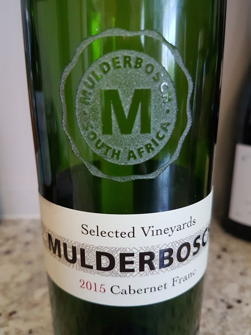 Mulderbosch Selected Vineyards Cabernet Franc 2015 photo