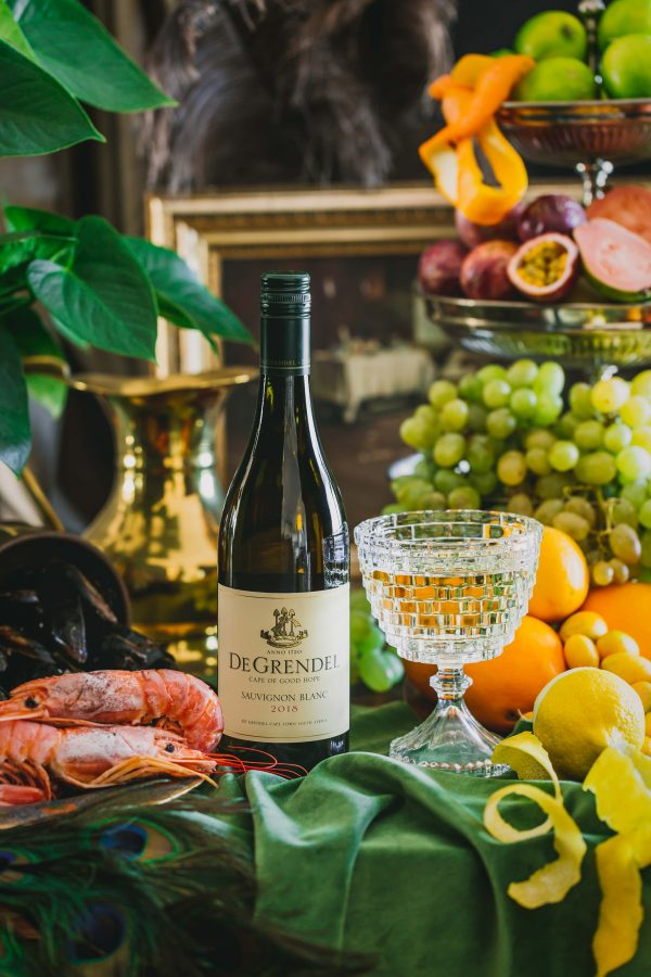 Continuing To Unveil PIWOSA Works Of #LIQUIDART For CAPEWINE 2018: Enter #DeGrendelWines photo