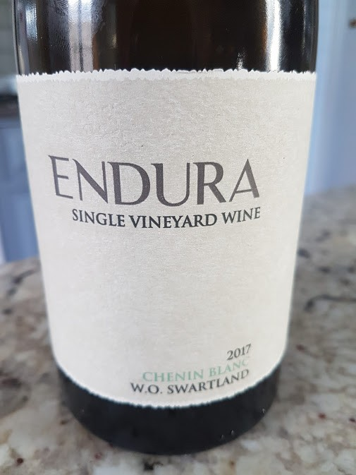 Wine Review: Perdeberg Endura Chenin Blanc 2017 photo