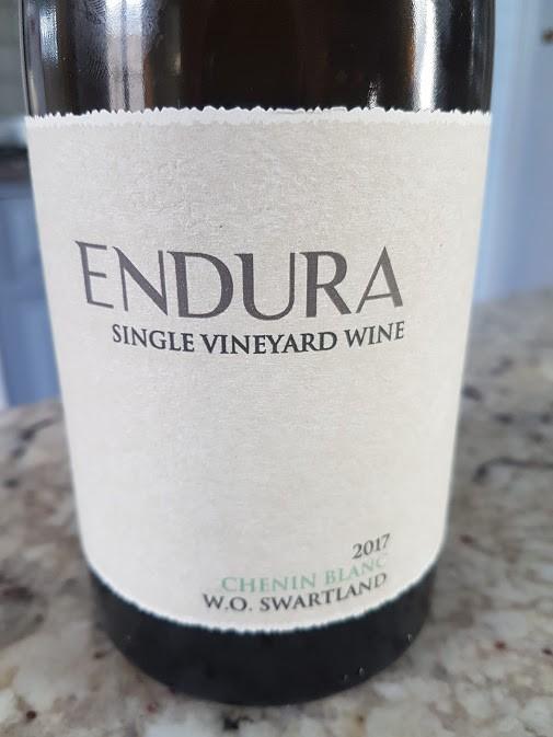 Wine Review: Perdeberg Endura Chenin Blanc 2017 photo