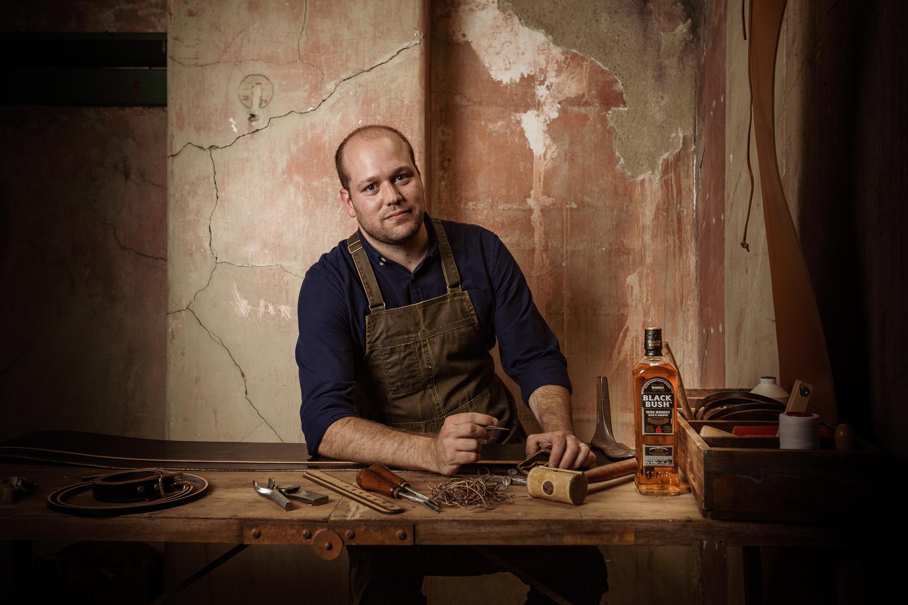 Bushmillsirish Whiskey Collaborates With Master Craftsman To Host Workshop photo